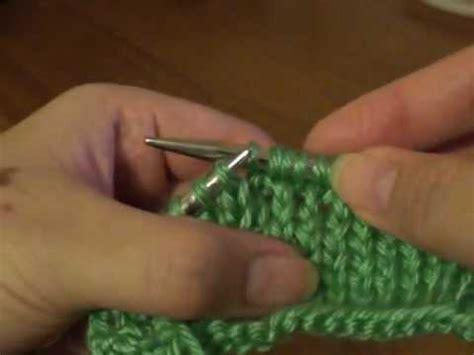 make one in knitting m1 make 1 knitting increase stitch