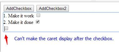 fix div position javascript fix cursor position correct with
