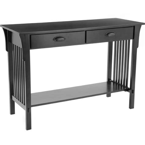 mission sofa table mission style sofa table in accent tables