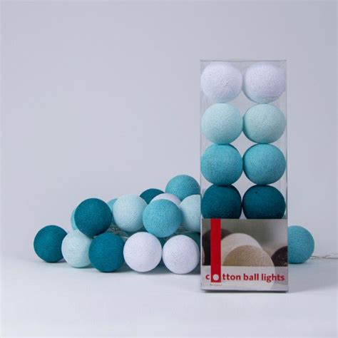 cotton lights aqua