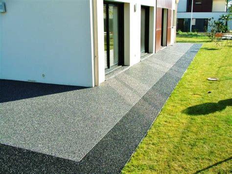 Resine Pour Terrasse Beton 4380 by Devis De Goudronnage Et B 233 Ton D 233 Coratif Sur Cour All 233 E De