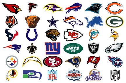 cool tattoos all nfl team logos clip art library