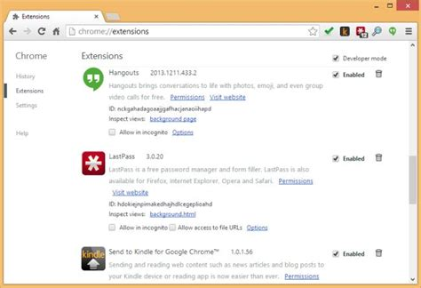 Chrome Web Extensions | google boots multi purpose chrome extensions from the web