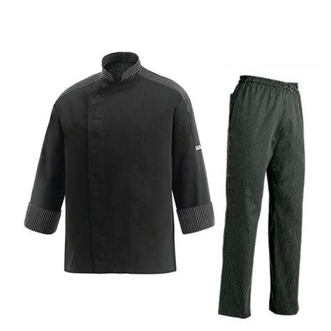 divisa da cucina divisa da cuoco con strisce pantaloni giacca