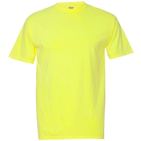 neon blue comfort colors comfort colors 1717 garment dyed heavyweight ringspun
