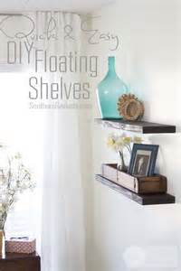 cheap diy shelves easy cheap diy floating shelves southern