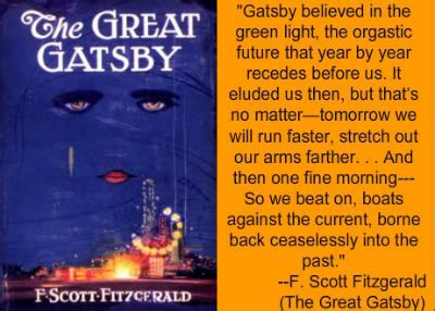 american dream theme great gatsby quotes 2013 literature examination ms o grady