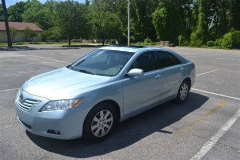 Toyota Camry 2007 Mileage Find Used 2007 Toyota Camry Xle V6 Automatic Blue