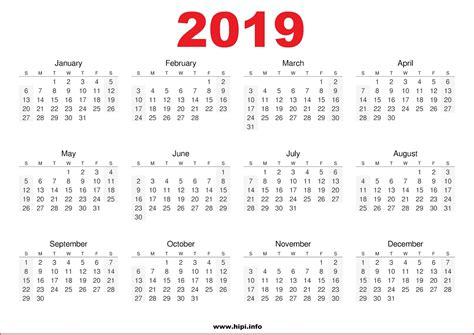 printable online calendar 2019 twitter headers facebook covers wallpapers calendars