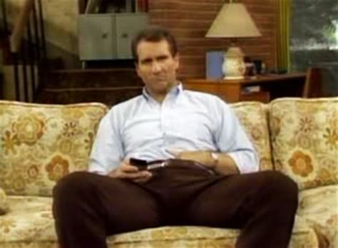 al bundy on the couch x gains al bundy x gains
