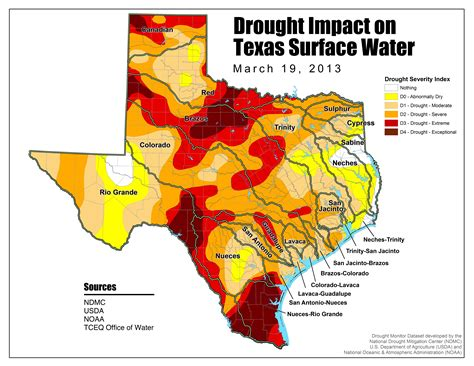 current texas drought map dm 130319 stateimpact texas