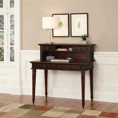 Small Writing Desk With Hutch Simple Writing Desks For Small Spaces Homesfeed