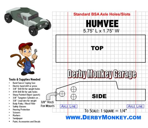 pinewood derby templates  cars design printable