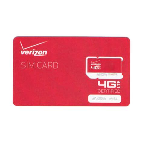 Sims Gift Card - verizon wireless mini 4g lte certified 2ff sim card prepaid postpaid ebay