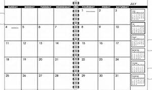 month at a glance blank printable page 2 new calendar