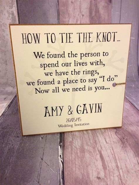 tie the knot wedding invitation wording 17 best images about invitations on birds