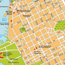 map of key west florida hotels island map key west fl florida usa maps and directions