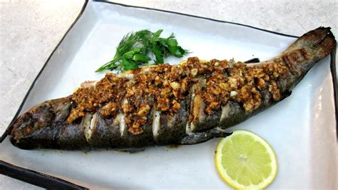 trout amandine trout amandine stuffed and grilled to perfection