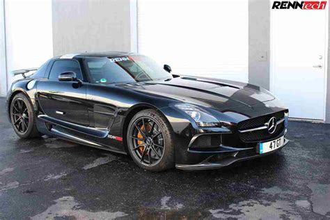Mercedes Sls Amg by Renntech Gives The Mercedes Sls Amg 613 Ps