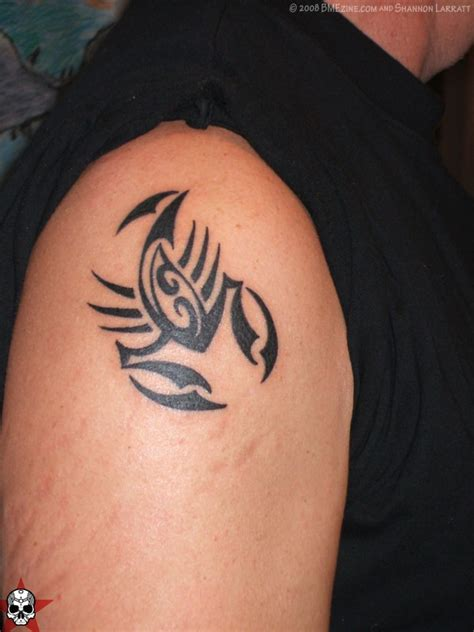 cancer tribal tattoo free zodiac tattoos photo galleries