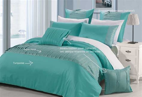 Turquoise Bed Covers Molise Turquoise King Quilt Cover Set New Duvet