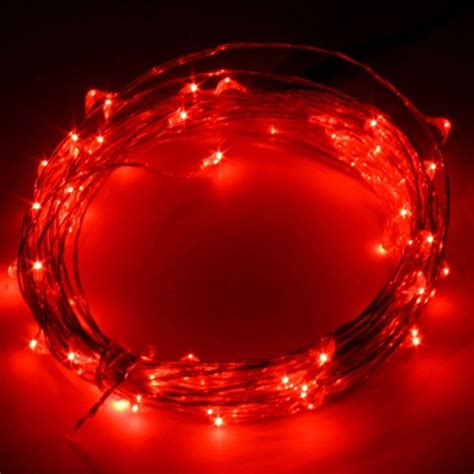 6 16 32ft star string led silver wire light miniature
