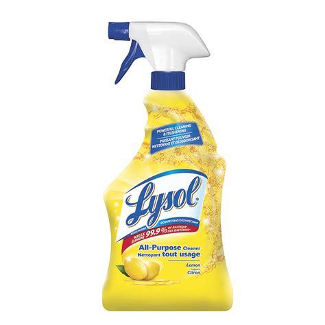 lysol  purpose cleaner lemon scent  ml grand toy