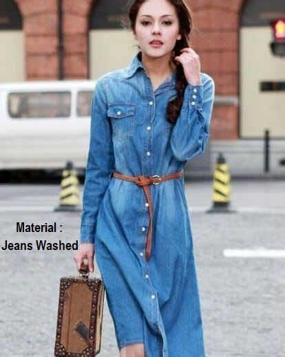 Dress Wanita Muslim Terusan 8131 baju wanita model midi dress s179 dan murah http www butikjingga baju