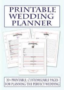 Free Printable Wedding Planner Templates Wedding Registry Checklist 2015 Wedding Catalog Online