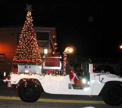 island of lights christmas parade wilmington nc