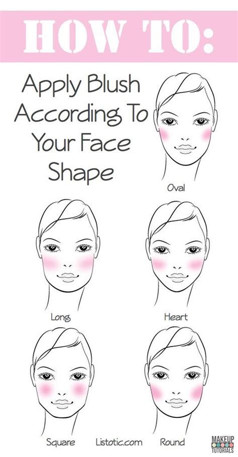 Blush Application Tutorial by 59 Hacks You Need To About Diy Tutorials