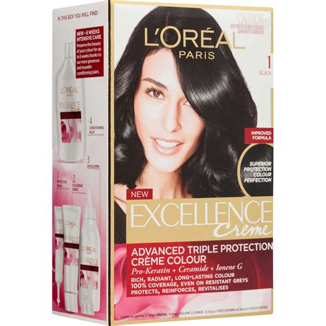 loreal excellence black no 1 l oreal excellence cr 232 me 1 black