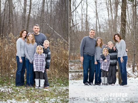 Family Photos Outside Winter a wisconsin winter family portrait session