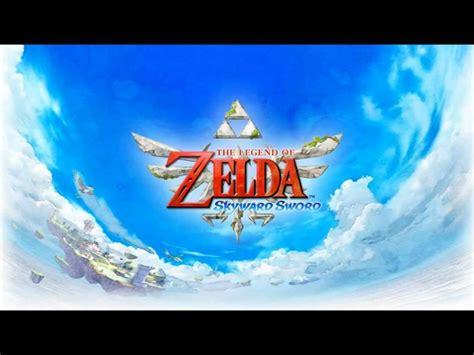 zelda gmail theme the legend of zelda skyward sword music main menu theme