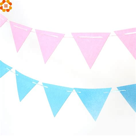 Banner Flag Diy Bunting Flag Do It Yourself Custom Request 1set 2 5m flags garland floral bunting banners diy birthday decoration