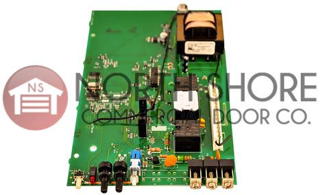 Genie Intellig 1000 Garage Door Opener Circuit Board Assembly by Genie Garage Door Opener Circuit Board Genie Intellicode