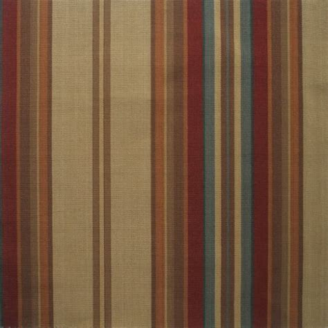 red and tan striped curtains carlton stripe cardinal red multi 72 inch long cotton
