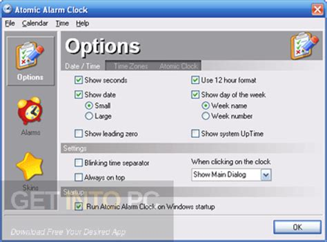 atomic alarm clock 6 623 free
