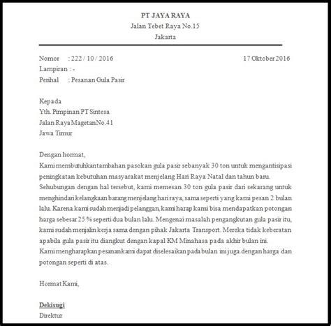 Contoh Surat Penawaran Bentuk Block Style by Contoh Surat Block Style Bagi Info