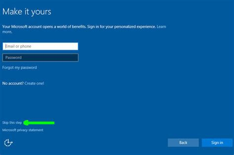 install windows 10 local account how to set up a local account in windows 10 during or
