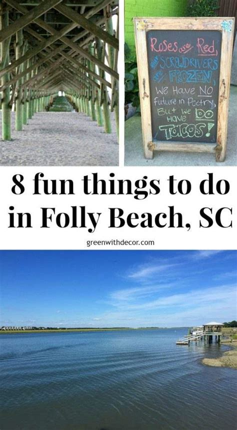 8 Things Do To by 8 Things To Do In Folly Sc Green With Decor