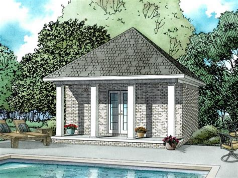 Pool House Plans With Garage by Pool House Plans With Garage 16 Photo House Plans