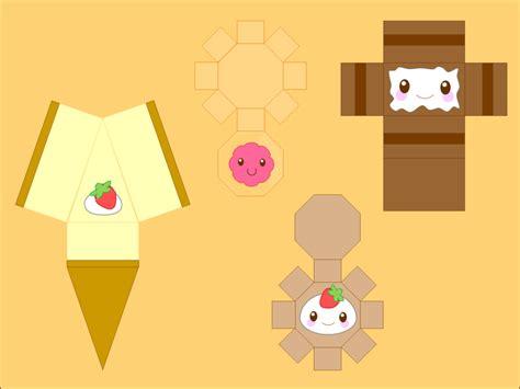 Kawaii Papercraft - kawaii papercraft template related keywords kawaii