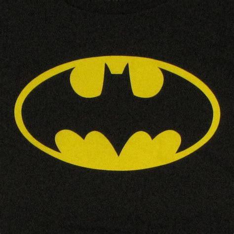batman logo pony stitching batman classic logo baby tee