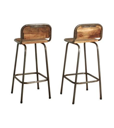 Tabouret Bar En Bois by Tabouret De Bar Bois Metal Vintage