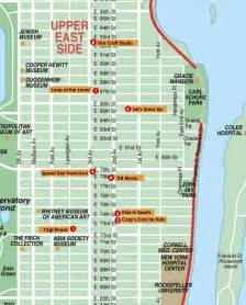 map of east side of us east side classes and places for