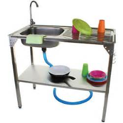 Portable Camping Kitchen With Sink outdoor kitchen sink camping unit portable folding ideal