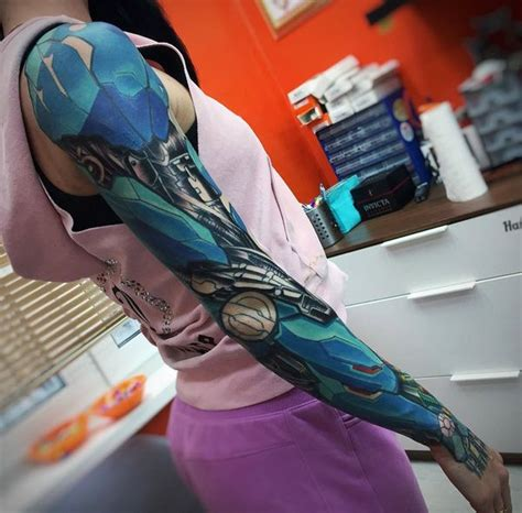 cyborg tattoos 41 biomechanical tattoos designs from future 2018