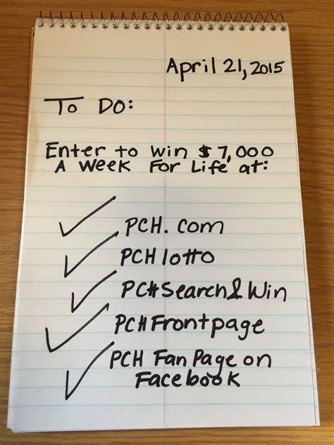 Pch Set For Life - it s the last day to enter to become set for life on april 30th pch blog