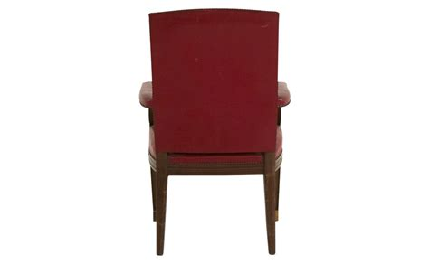 red leather armchair vintage red leather armchair jayson home